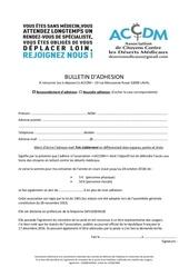 bulletin d adhesion accdm