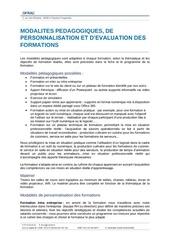 1 3 1 4 3 1 modalites pedagogiques et d evaluation