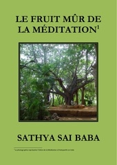 le fruit m r de la mEditation sathya sai baba