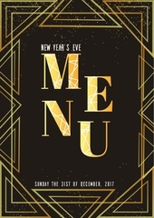 new year s eve menu