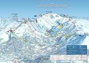 plan des pistes vallee de meribel