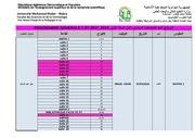 affichage 1st programme generale examens