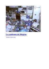 le syndrome de diogene