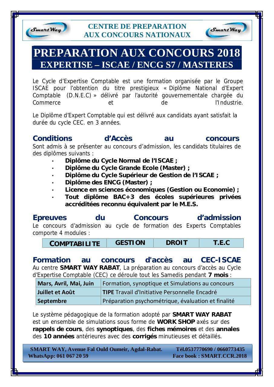Aperçu du document ISCAE - EXPERTISE.pdf - page 1/2