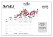 planning locle 2018 ave zumba janvier