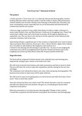 annabelle croze statement of intent 1