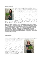 Fichier PDF biographies avec traduction