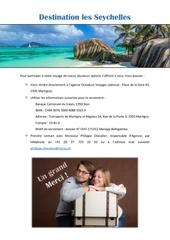 Fichier PDF cadeau mariage