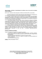 annonce post doc 2018 uceiv