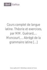 cours complet de langue latin