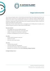 offre stage evenementiel ppf 02 18