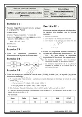 enonce serie revision 1