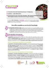 plaquette mastercacerologie 2014