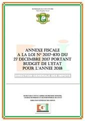 Fichier PDF annexe fiscale 2018