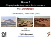 cm6 climats arides fin 1