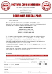 invitation futsal