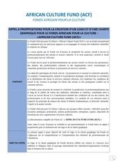 appel proposition logo charte grahique acf act