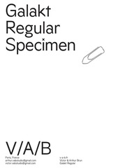 Fichier PDF galakt specimen 1
