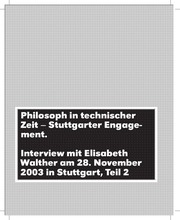 interview walther