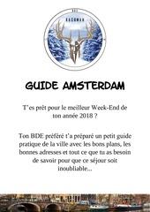 guide pour amsterdam