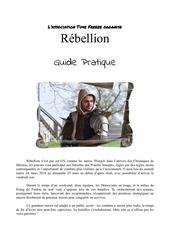 guide pratique rebellion 1