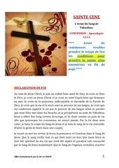 Fichier PDF sainte cene