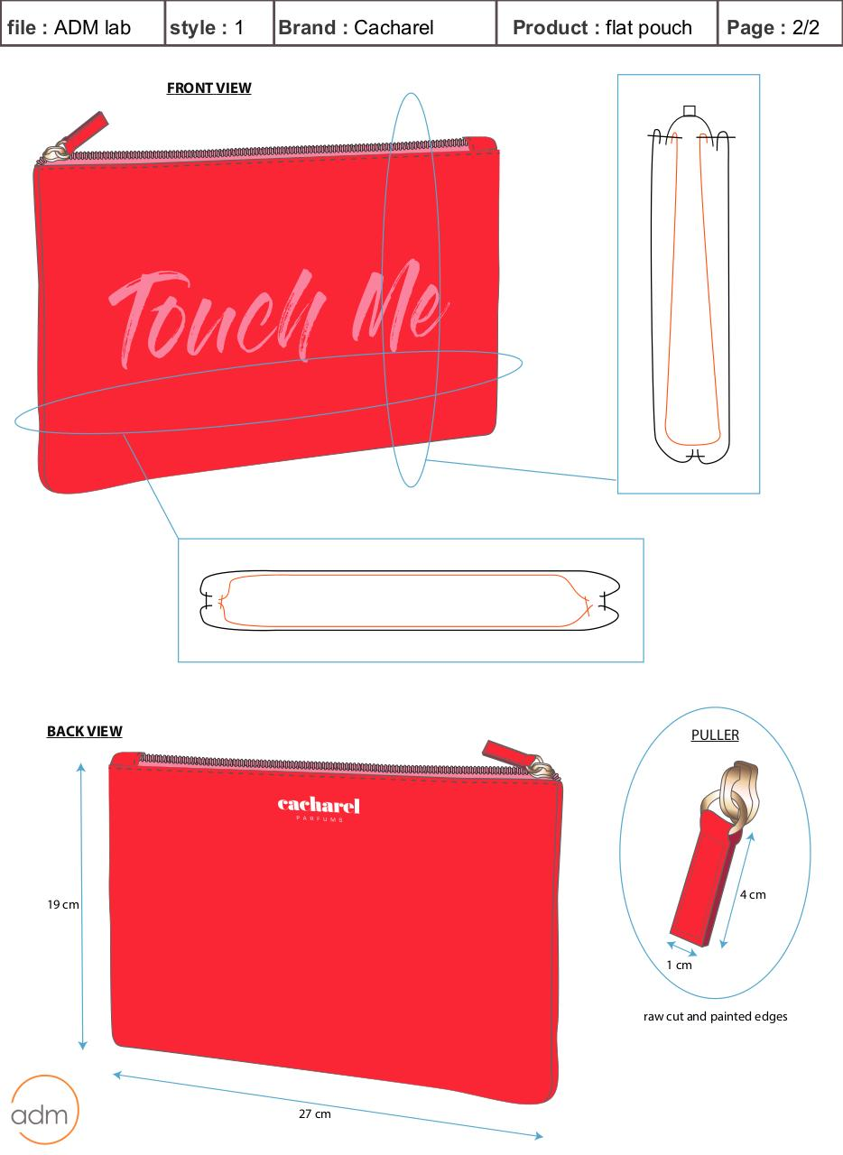 SAMPLE REQUEST-Cacharel flat pouch-style 1.pdf - page 2/3