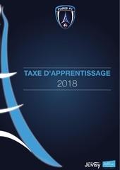 paris fc taxe apprentissage 2018