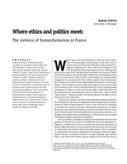 Fichier PDF ticktin where ethics and politics