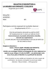 Fichier PDF inscription bourse 2018