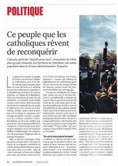 le peuple que les catholiques revent de reconquerir