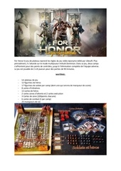Fichier PDF for honor regles