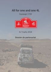 all for one and one 4l dossier de partenariat 1
