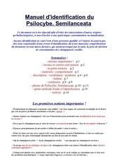 tuto manuel d identification psilo semilanceata