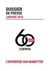 dossier presse sofima janvier 2018