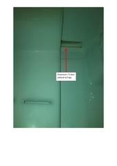 ouverture dans frigo