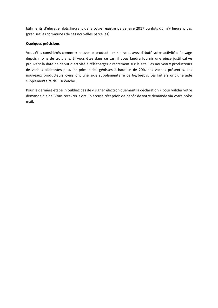 Aperçu du document Aides PAC animales 2018.pdf - page 2/2