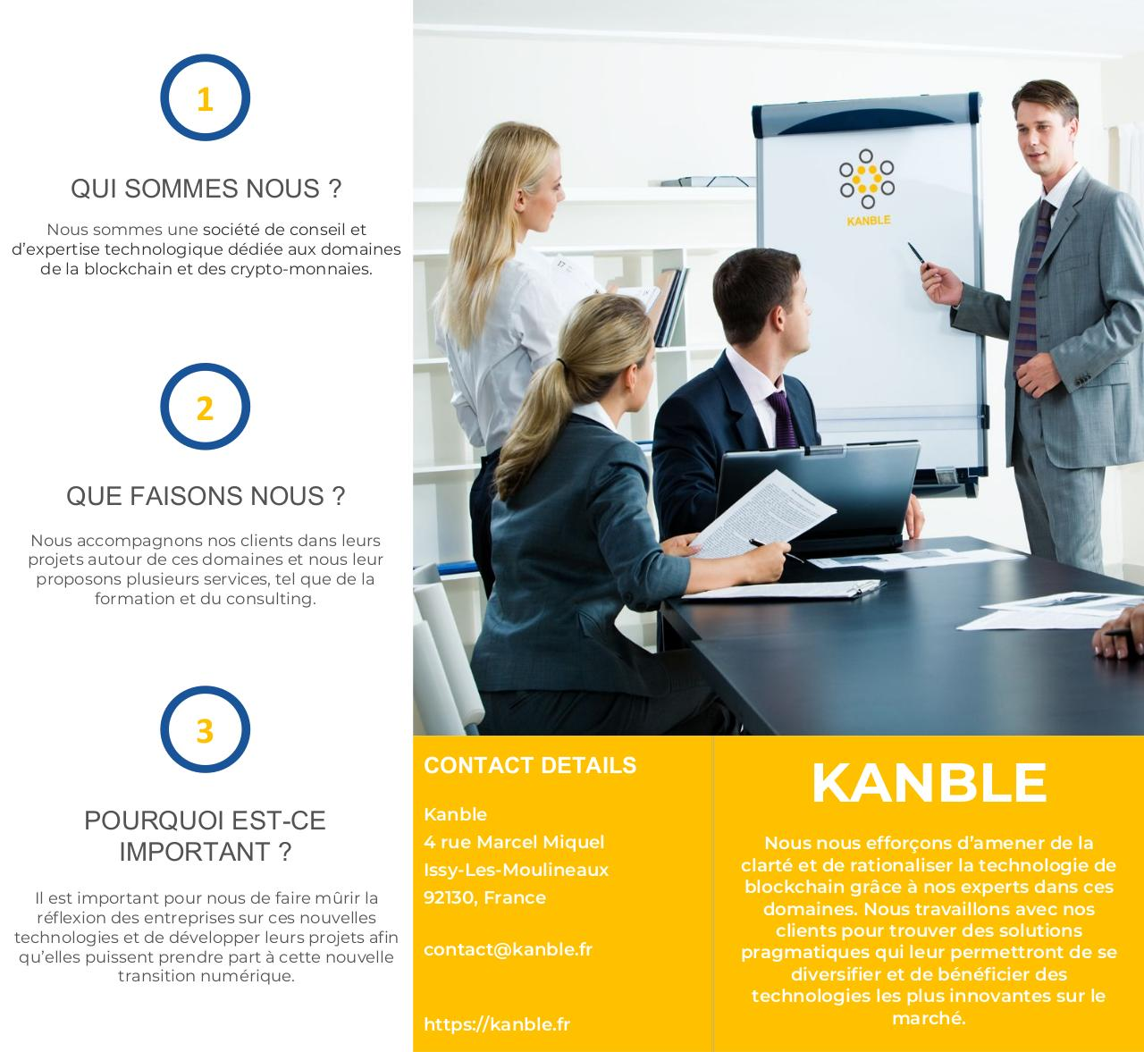 Brochure Formation Kanble.pdf - page 1/6
