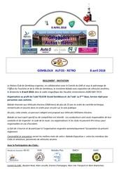 gar 2018 reglement invitation