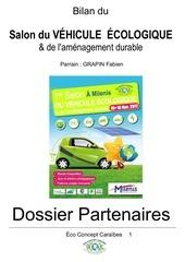 dossier partenaires salon du vehicule ecologique