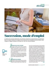 succession mode d emploi