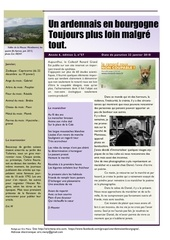 un ardennais en bourgogne journal mensuel janvier 2018
