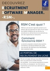 recruitment software manager sc