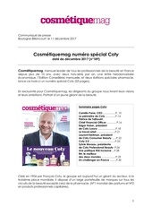 cp cosmetiquemag edition speciale coty 2017