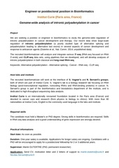 bioinfo curie intronic polyadenylation