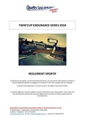 reglement sportif 2018 twincup endurance series vweb