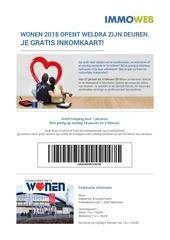 wonen2018 gratisinkomkaart immoweb