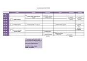 planning sport janvier fevrier