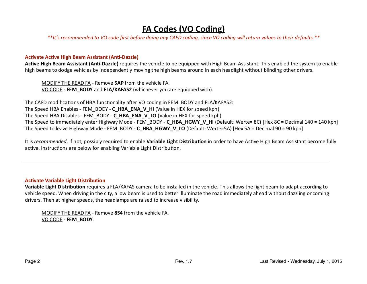 BMW Codes - F30_Coding_Reference_Guide_v1 7 pdf - Fichier PDF