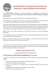 flyer formation contractualisation
